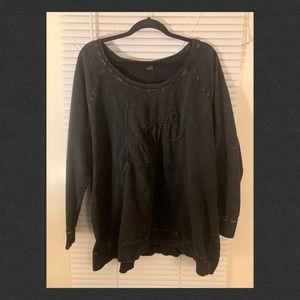 Torrid Acid Wash Love Sweater